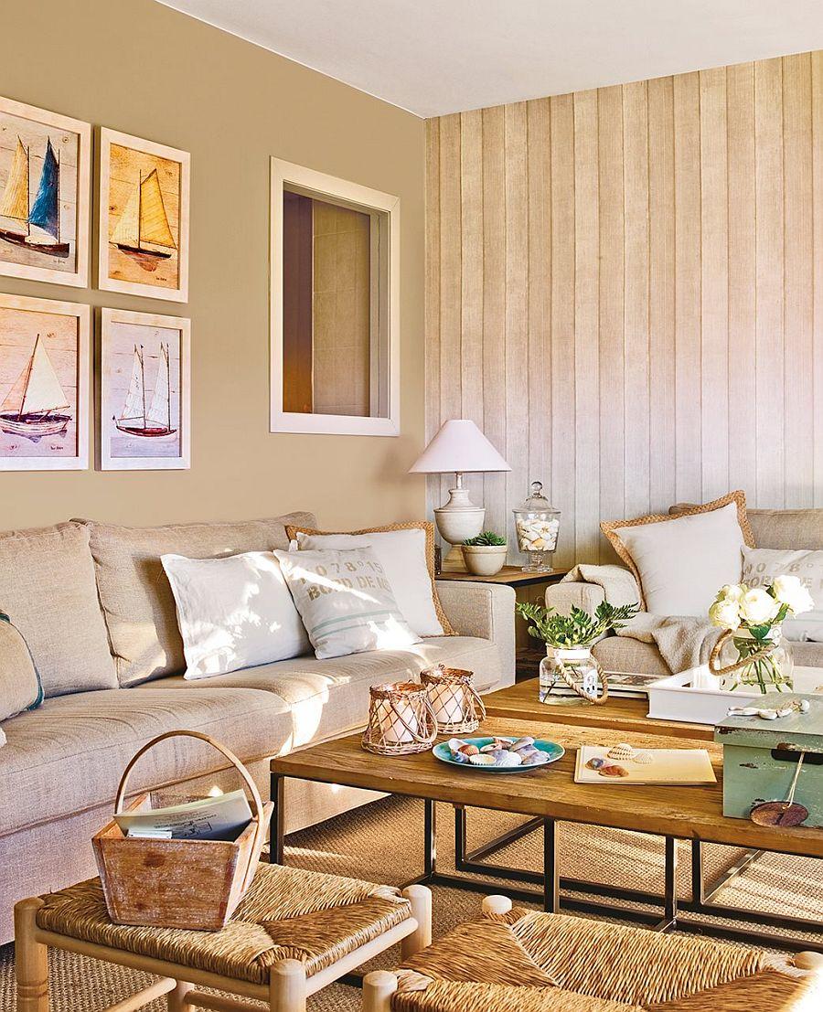 adelaparvu.com despre apartament in nuantele plajei, designer Clara Valls, Foto ElMueble (10)