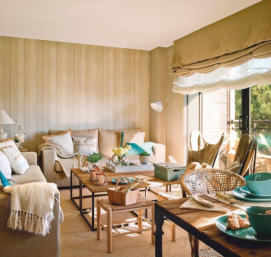 adelaparvu.com despre apartament in nuantele plajei, designer Clara Valls, Foto ElMueble (11)