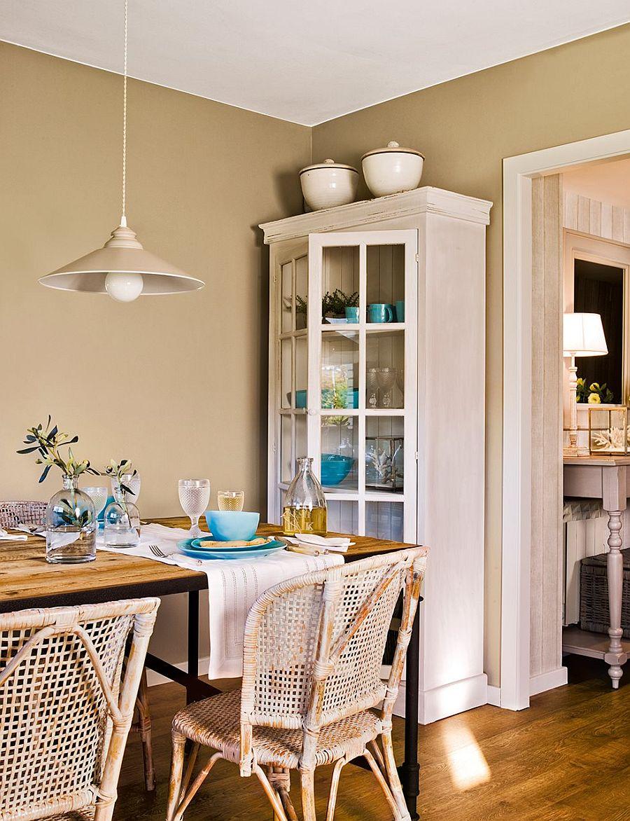 adelaparvu.com despre apartament in nuantele plajei, designer Clara Valls, Foto ElMueble (12)