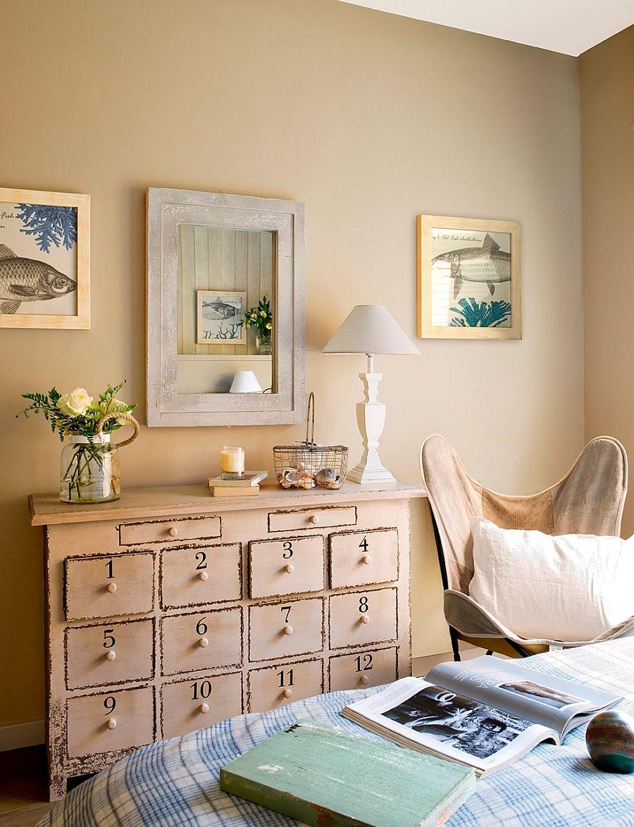 adelaparvu.com despre apartament in nuantele plajei, designer Clara Valls, Foto ElMueble (7)