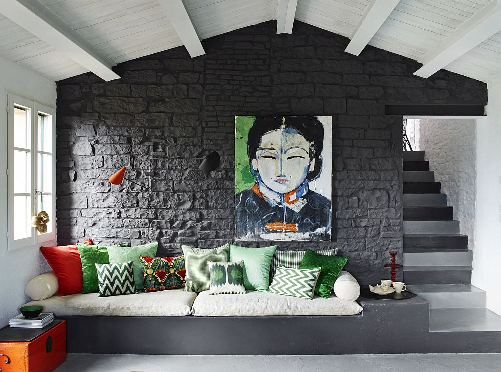 adelaparvu.com despre casa din piatra in stil eclectic, Umbria, designer Andrea Falkner, Foto Septimius Krogh (17)