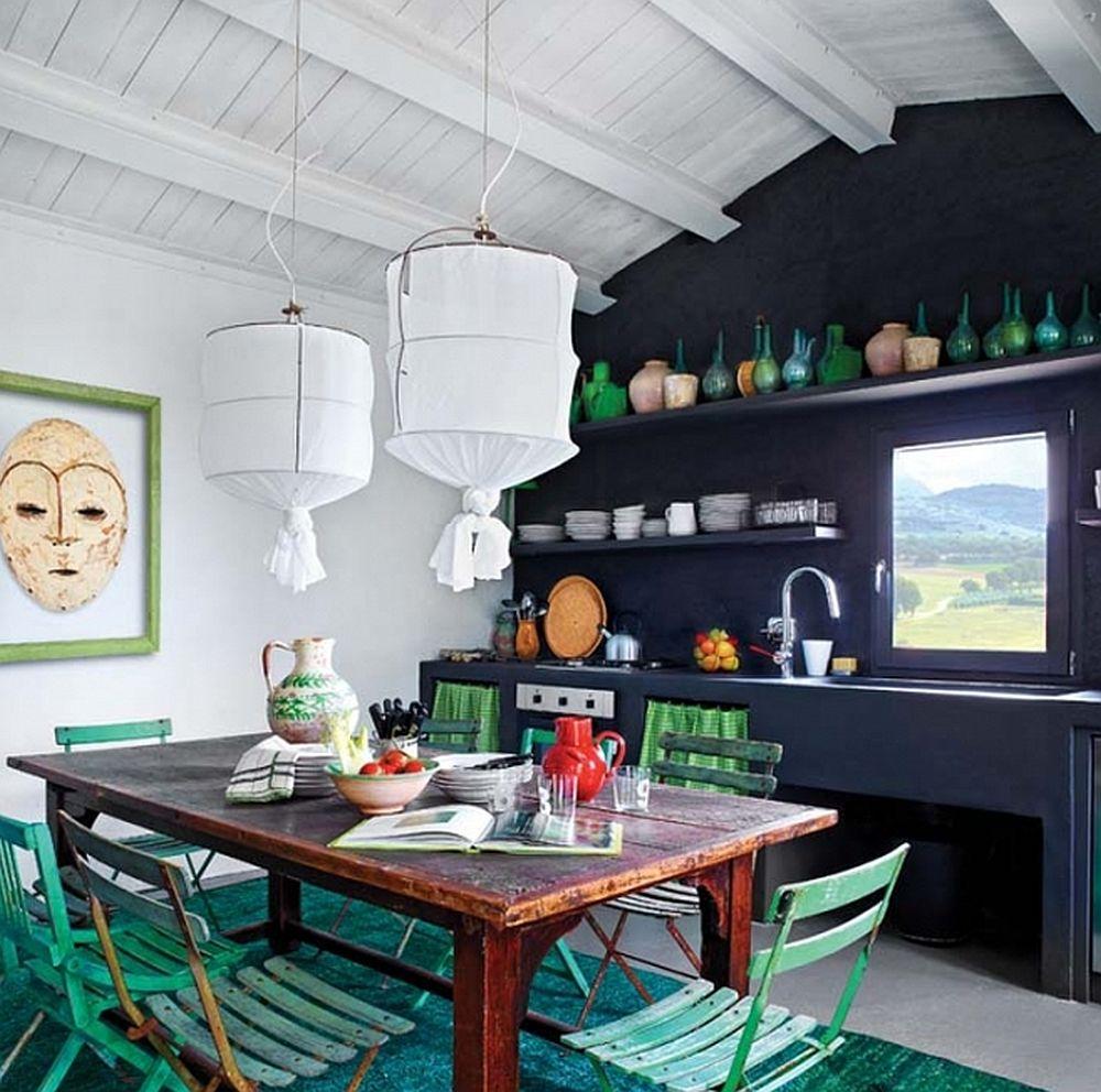 adelaparvu.com despre casa din piatra in stil eclectic, Umbria, designer Andrea Falkner, Foto Septimius Krogh (25)