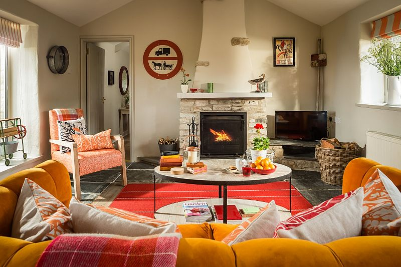 adelaparvu.com despre casa rustica colorata, casa Anglia, Watergate Bay, Cornwall, Foto Unique Home Stays (8)