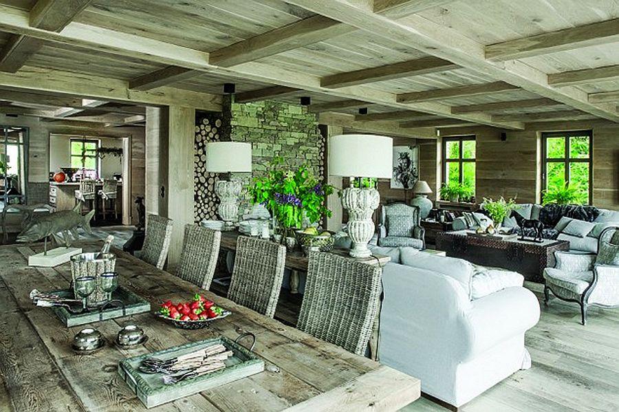 adelaparvu.com despre casa rustica cu interior clasic Polonia, designer Aleksandra Miecznicka, Foto Rafal Lipski (14)