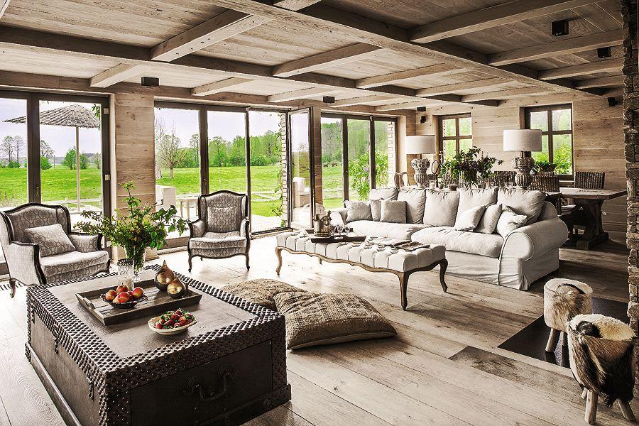 adelaparvu.com despre casa rustica cu interior clasic Polonia, designer Aleksandra Miecznicka, Foto Rafal Lipski (4)
