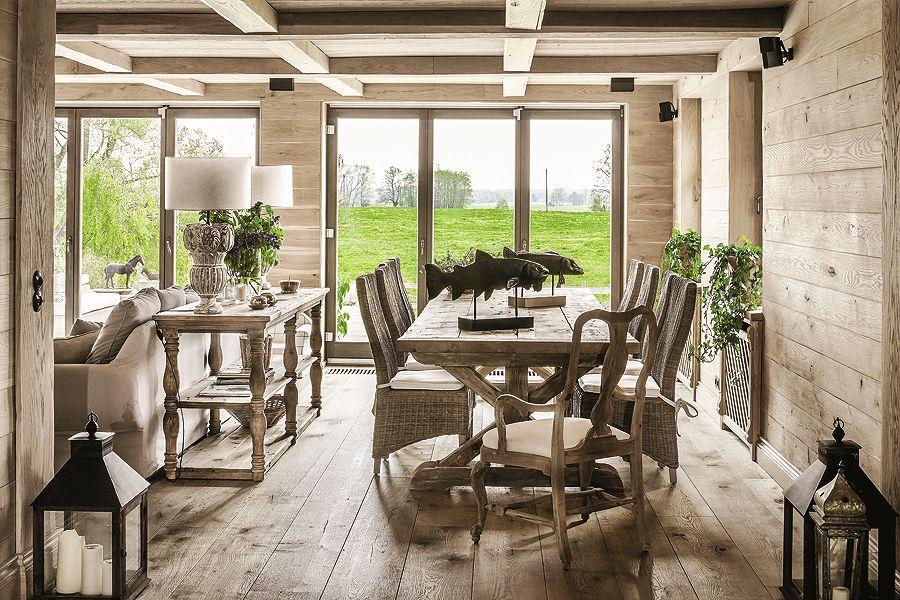 adelaparvu.com despre casa rustica cu interior clasic Polonia, designer Aleksandra Miecznicka, Foto Rafal Lipski (7)