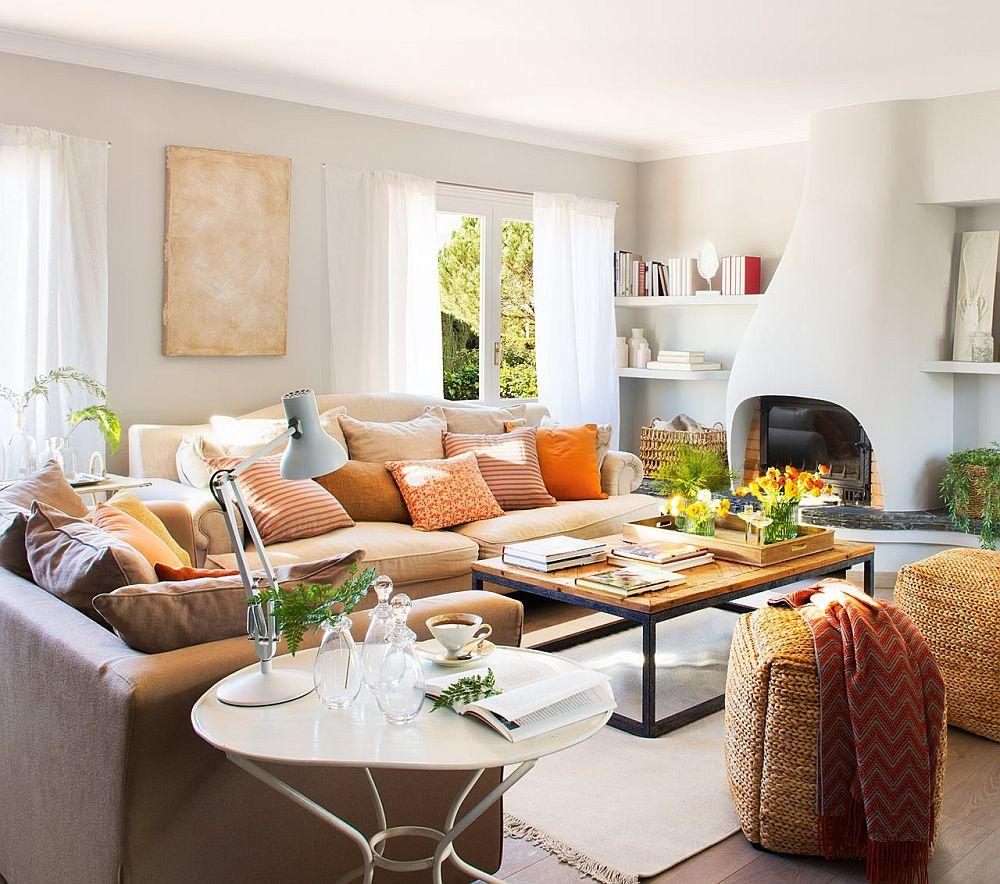 adelaparvu.com despre casa rustica cu obiecte colorate, casa Tom Sharpe, Foto ElMueble (9)