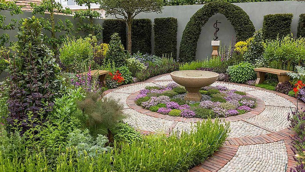 adelaparvu.com despre gradina cu plante medicinale, designer Jekka McVicar, A Modern Apothecary Garden, RHS Chelsea Flower Show 2016 (14)