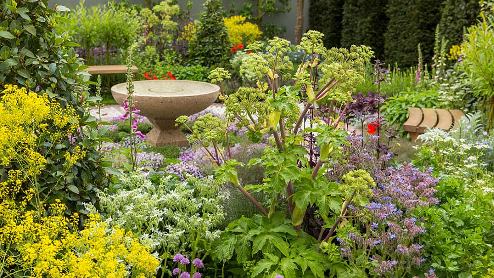 adelaparvu.com despre gradina cu plante medicinale, designer Jekka McVicar, A Modern Apothecary Garden, RHS Chelsea Flower Show 2016 (17)