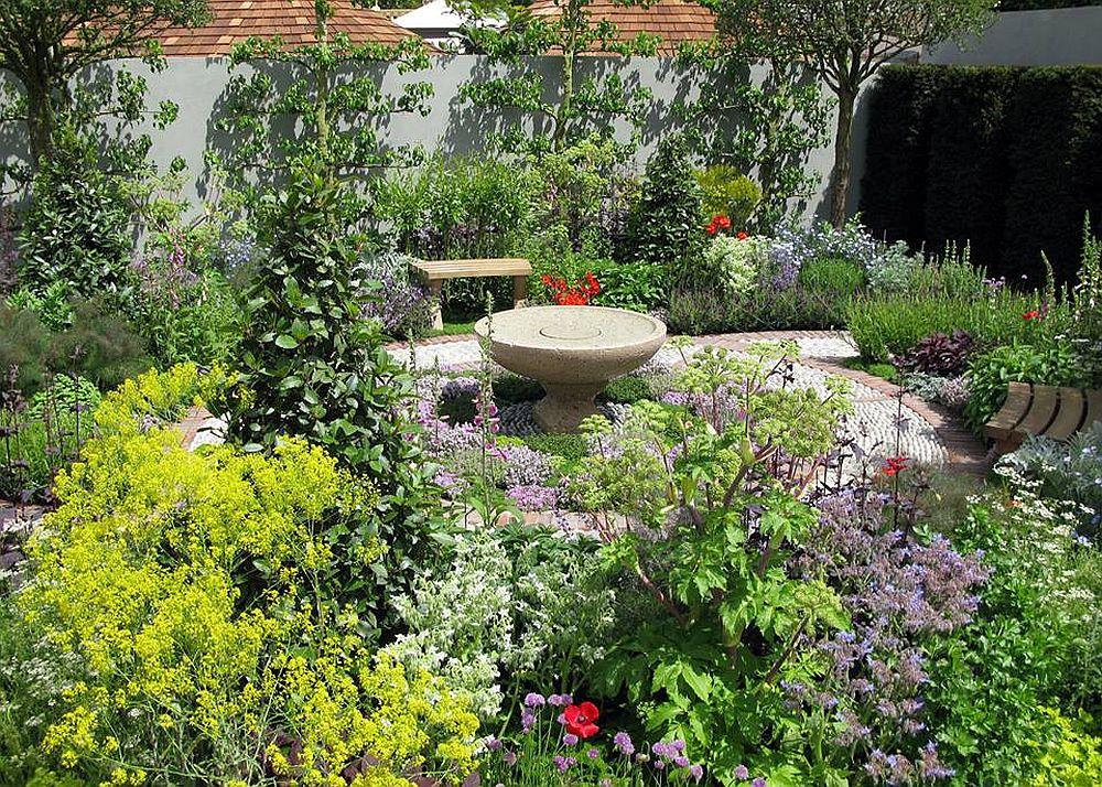 adelaparvu.com despre gradina cu plante medicinale, designer Jekka McVicar, A Modern Apothecary Garden, RHS Chelsea Flower Show 2016 (3)