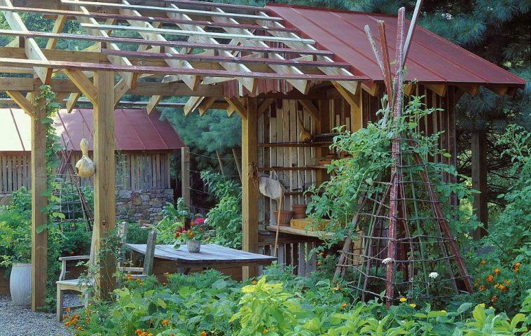 adelaparvu.com despre gradina rustica, Orchard Farm, design Clinton and Associates Landscape Architects, Foto Roger Foley (2)