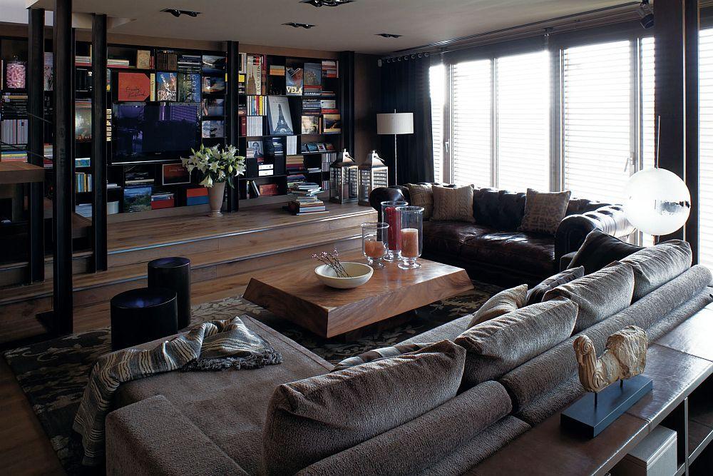 adelaparvu.com despre locuinta la mansarda amenajat contemporan, designer Adela Cabre (1)