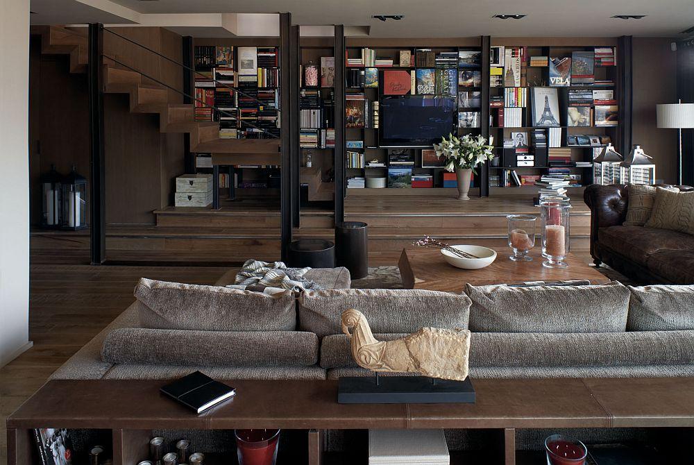 adelaparvu.com despre locuinta la mansarda amenajat contemporan, designer Adela Cabre (2)