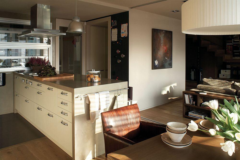 adelaparvu.com despre locuinta la mansarda amenajat contemporan, designer Adela Cabre (3)