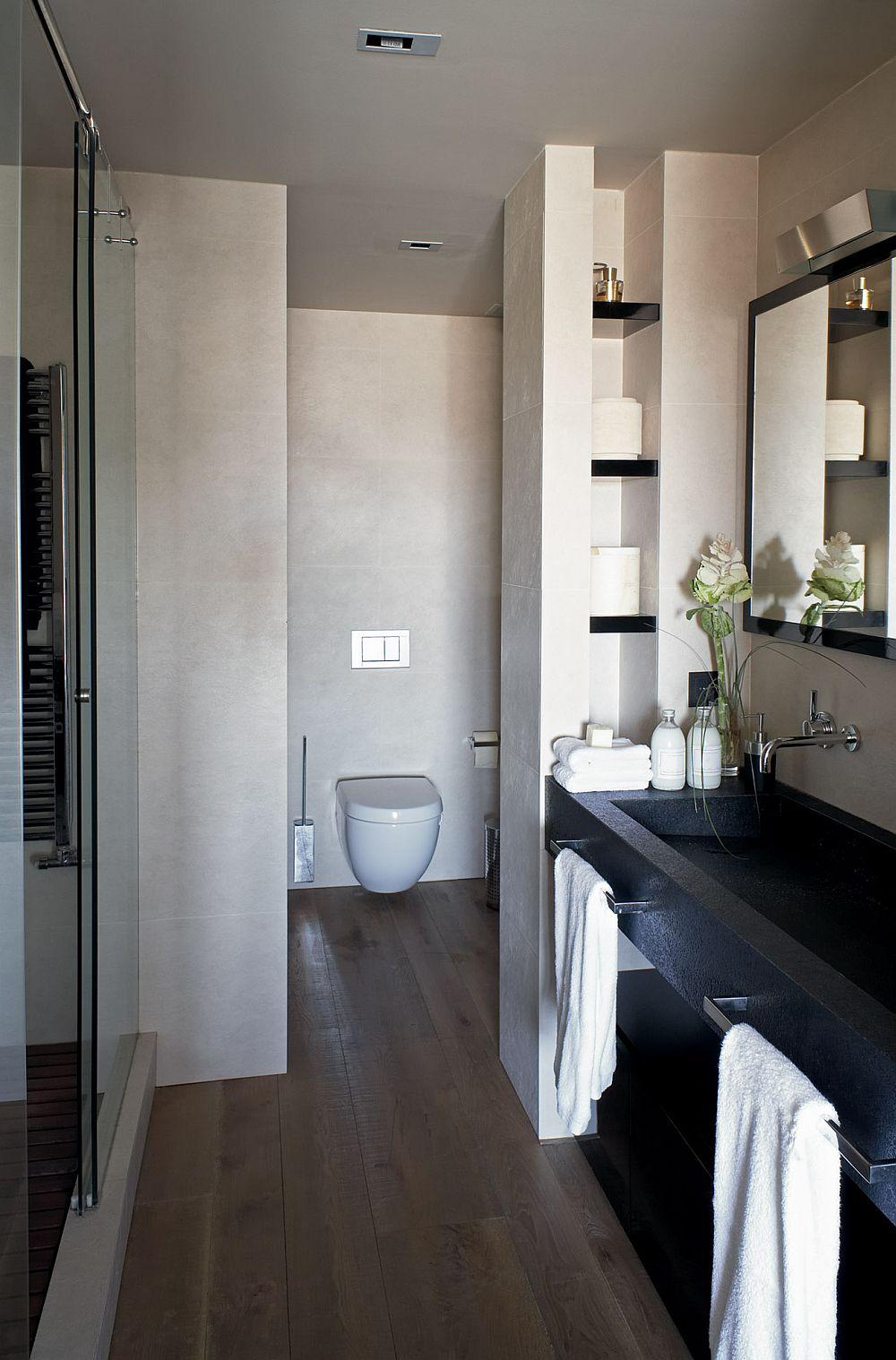 adelaparvu.com despre locuinta la mansarda amenajat contemporan, designer Adela Cabre (4)