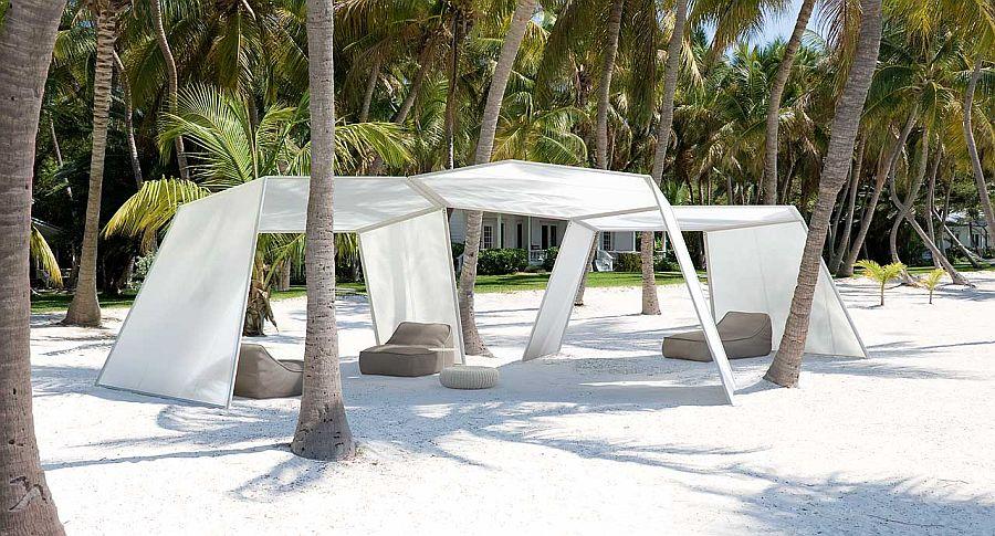 adelaparvu.com despre sistem de umbrire, Pavilion, designer Renato J. Morganti, producator Paola Lenti (10)