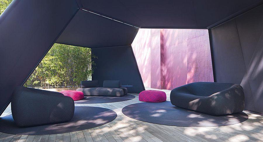 adelaparvu.com despre sistem de umbrire, Pavilion, designer Renato J. Morganti, producator Paola Lenti (11)