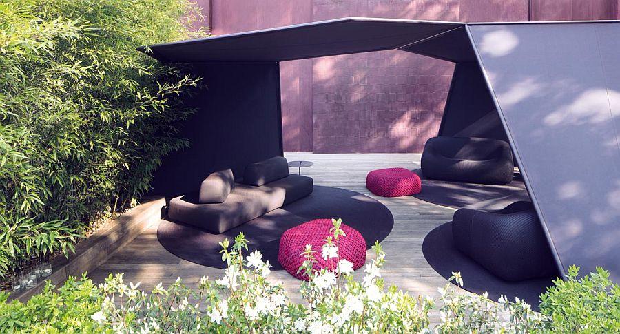 adelaparvu.com despre sistem de umbrire, Pavilion, designer Renato J. Morganti, producator Paola Lenti (12)