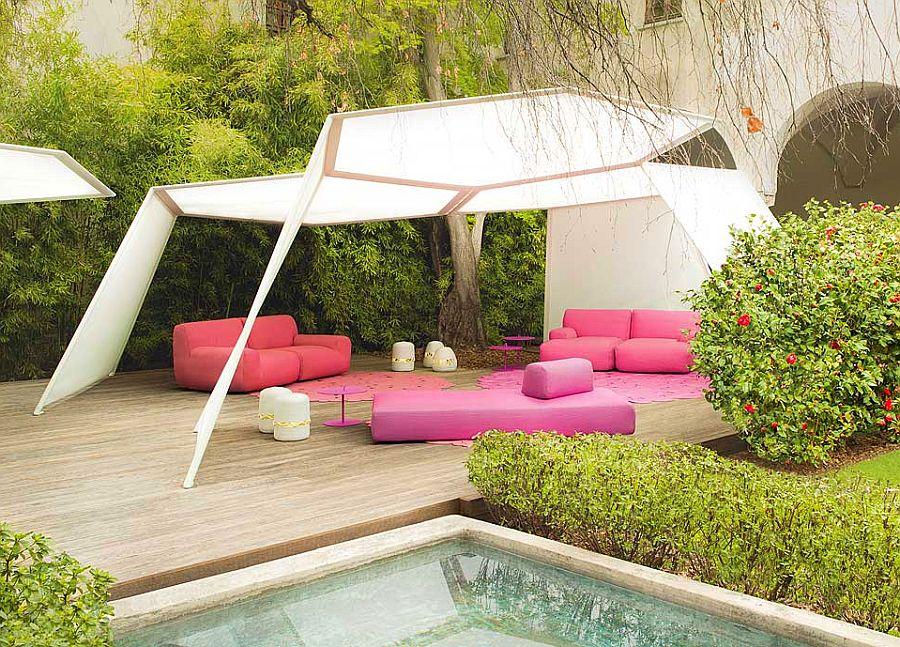 adelaparvu.com despre sistem de umbrire, Pavilion, designer Renato J. Morganti, producator Paola Lenti (5)