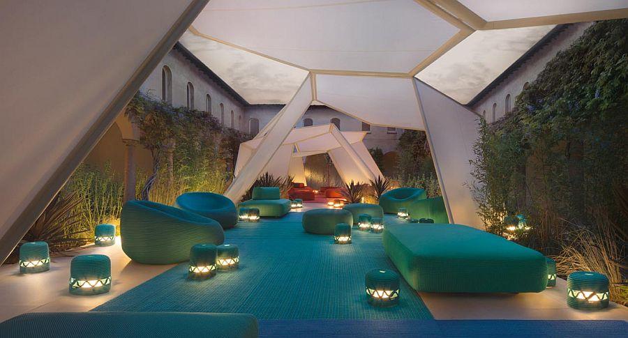 adelaparvu.com despre sistem de umbrire, Pavilion, designer Renato J. Morganti, producator Paola Lenti (7)