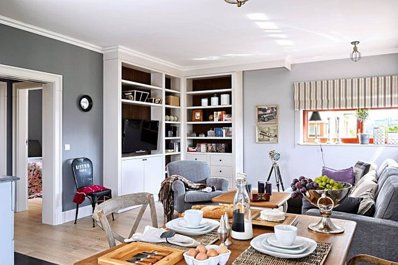 adelaparvu.com despre apartament 2 camere, 61 mp, Varsovia , Foto Mariusz Putna (1)