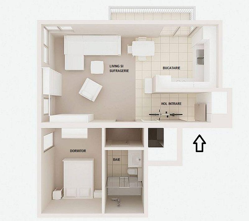 adelaparvu.com despre apartament 2 camere, 61 mp, Varsovia , Foto Mariusz Putna (9)