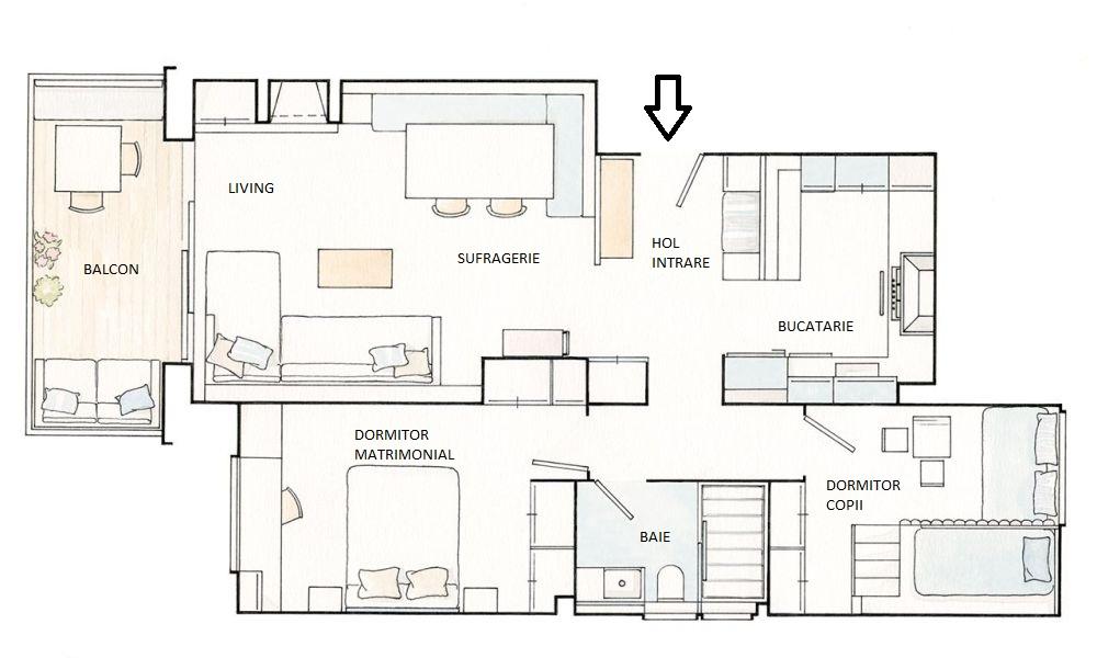 adelaparvu.com despre apartament 95 mp, Barcelona, designer Gemma Gallego, Foto ElMueble, Pepa Oromi (111)