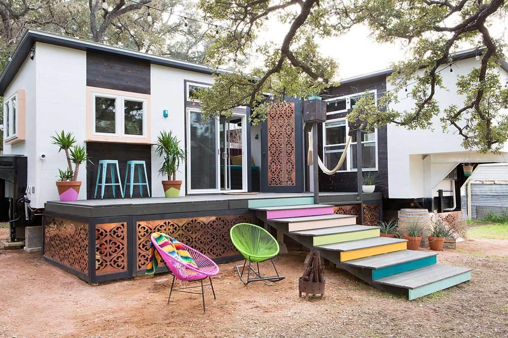 adelaparvu.com despre casa facuta din containere de camion, Designer Kim Lewis, Foto Molly Winters (17)