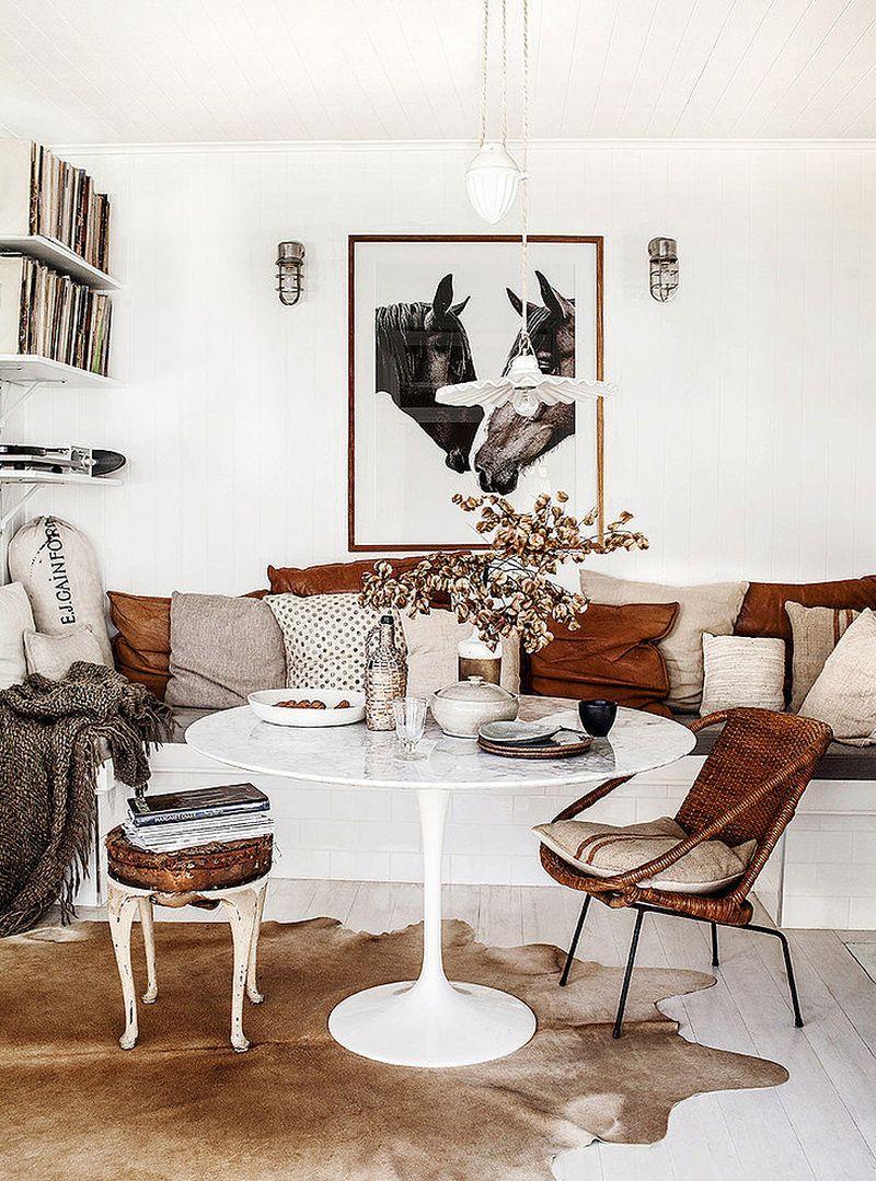 adelaparvu.com despre casa mica din lemn alba frumos decorata, design Kara Rosenlund (1)