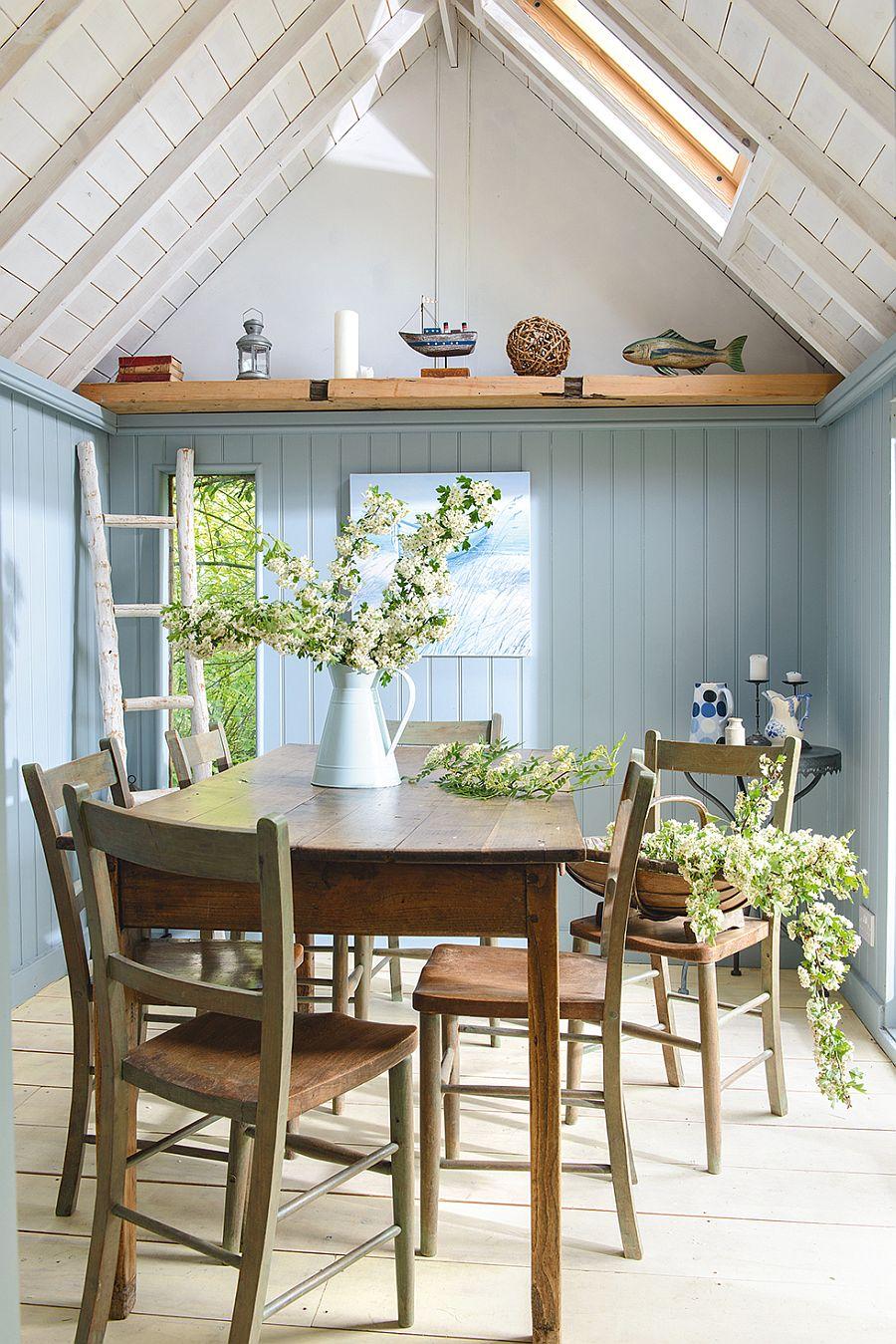adelaparvu.com despre casuta de vacanta, casa de vara, designer Linda Kilburn , Foto Period Living, Colin Poole (2)