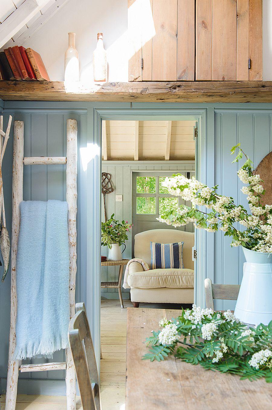 adelaparvu.com despre casuta de vacanta, casa de vara, designer Linda Kilburn , Foto Period Living, Colin Poole (4)