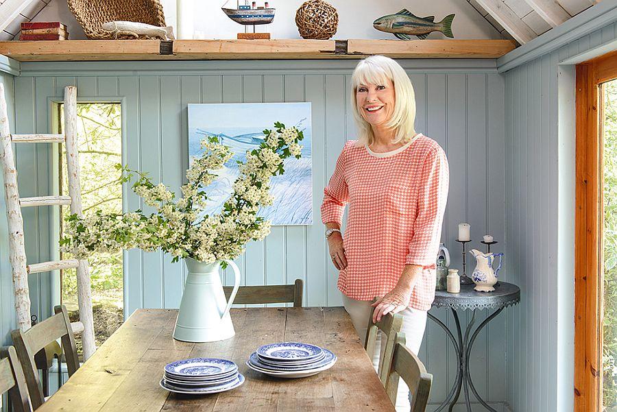 adelaparvu.com despre casuta de vacanta, casa de vara, designer Linda Kilburn , Foto Period Living, Colin Poole (6)