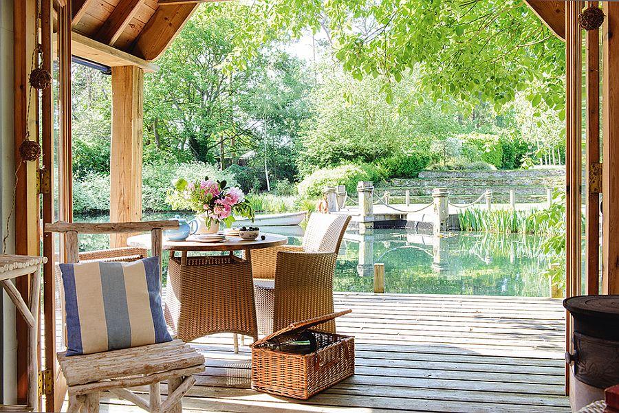 adelaparvu.com despre casuta de vacanta, casa de vara, designer Linda Kilburn , Foto Period Living, Colin Poole (8)