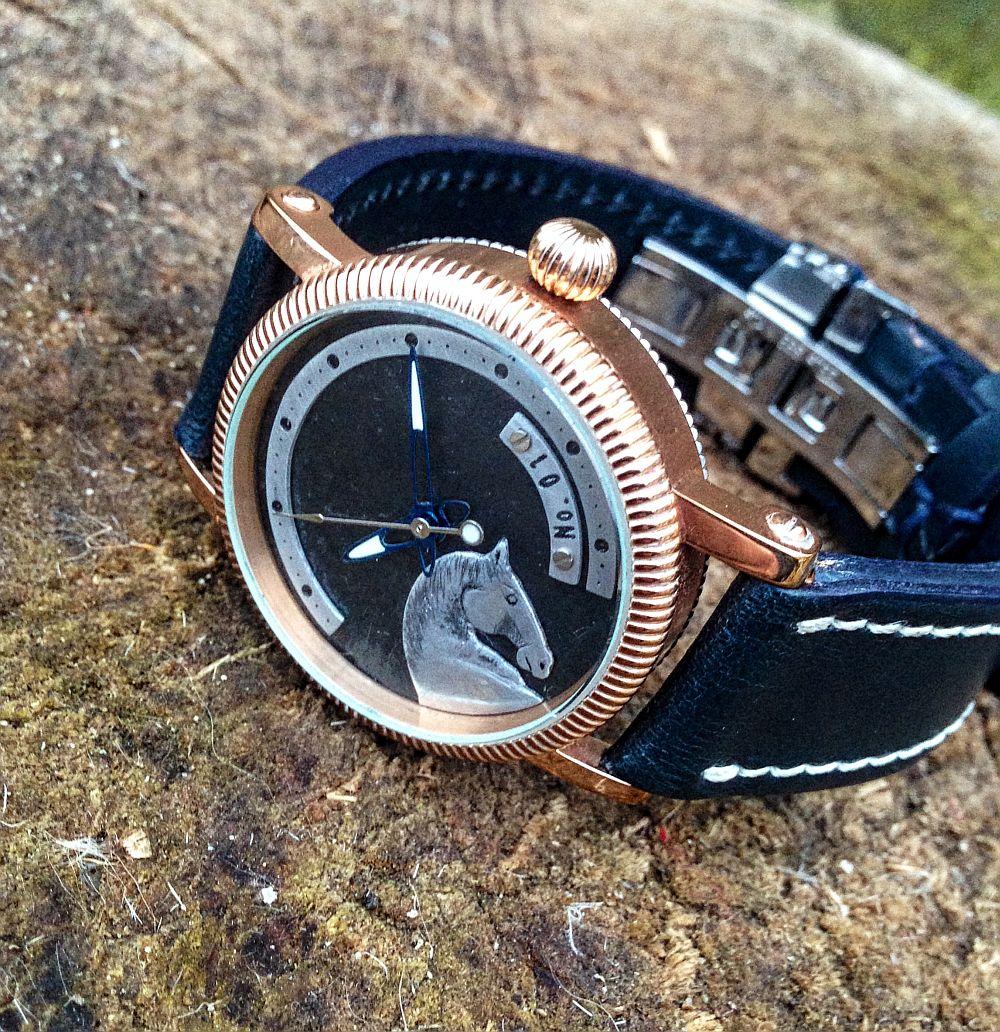 Augustin Matei, ceas model Horse