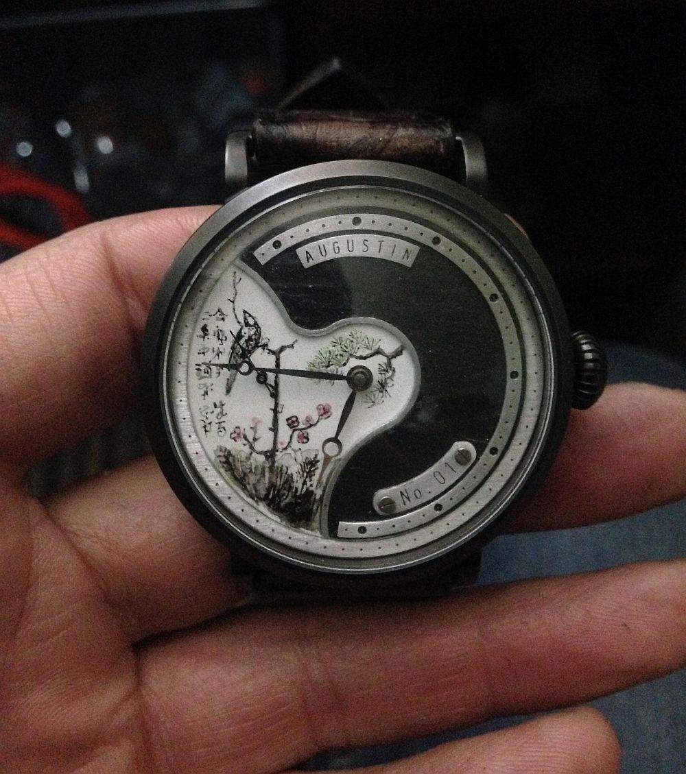 Augustin Matei, ceas model Inspiratie Japoneza
