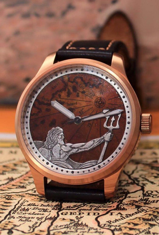 Augustin Matei, ceas model Poseidon