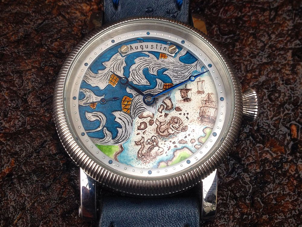 Augustin Matei, ceas model Sea Monster
