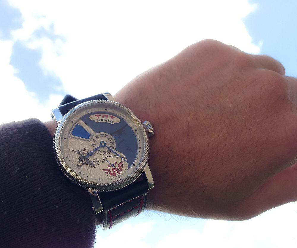 Augustin Matei, ceas model TNT