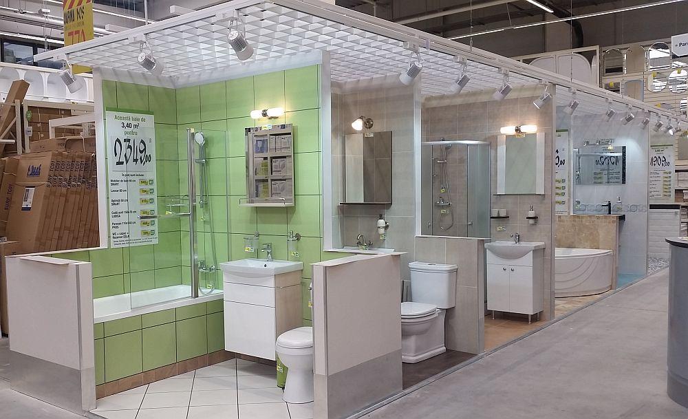 adelaparvu.com despre idei amenajare bai mici, bai Leroy Merlin, design ARA Design & Architecture (5)