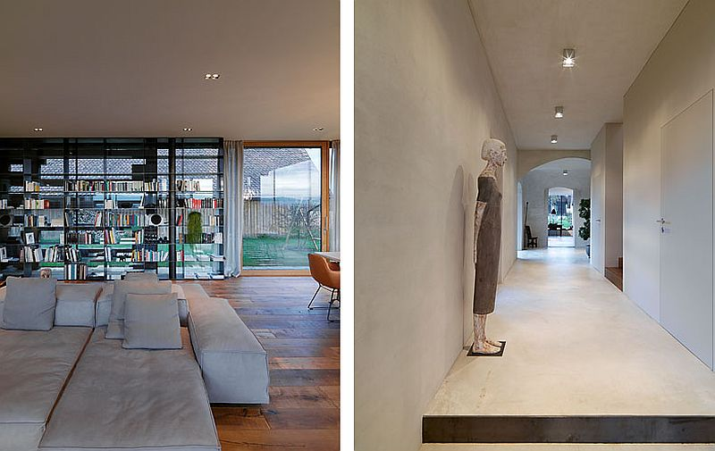 adelaparvu.com case rustice renovate contemporan, Austria, Design Gangoly & Kristiner Architects, Foto Paul Ott (18)