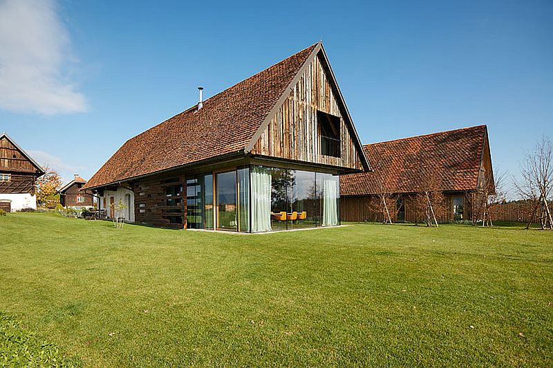 adelaparvu.com case rustice renovate contemporan, Austria, Design Gangoly & Kristiner Architects, Foto Paul Ott (2)