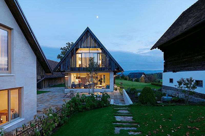adelaparvu.com case rustice renovate contemporan, Austria, Design Gangoly & Kristiner Architects, Foto Paul Ott (24)