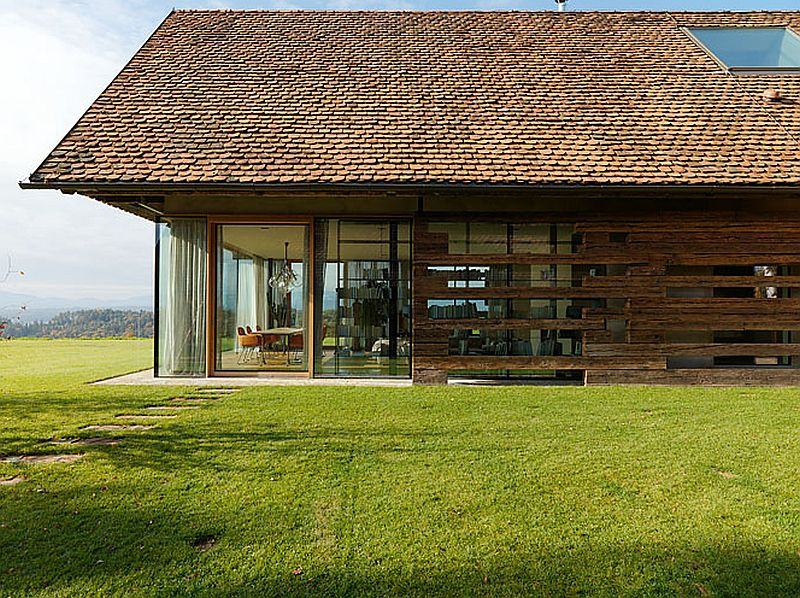 adelaparvu.com case rustice renovate contemporan, Austria, Design Gangoly & Kristiner Architects, Foto Paul Ott (5)