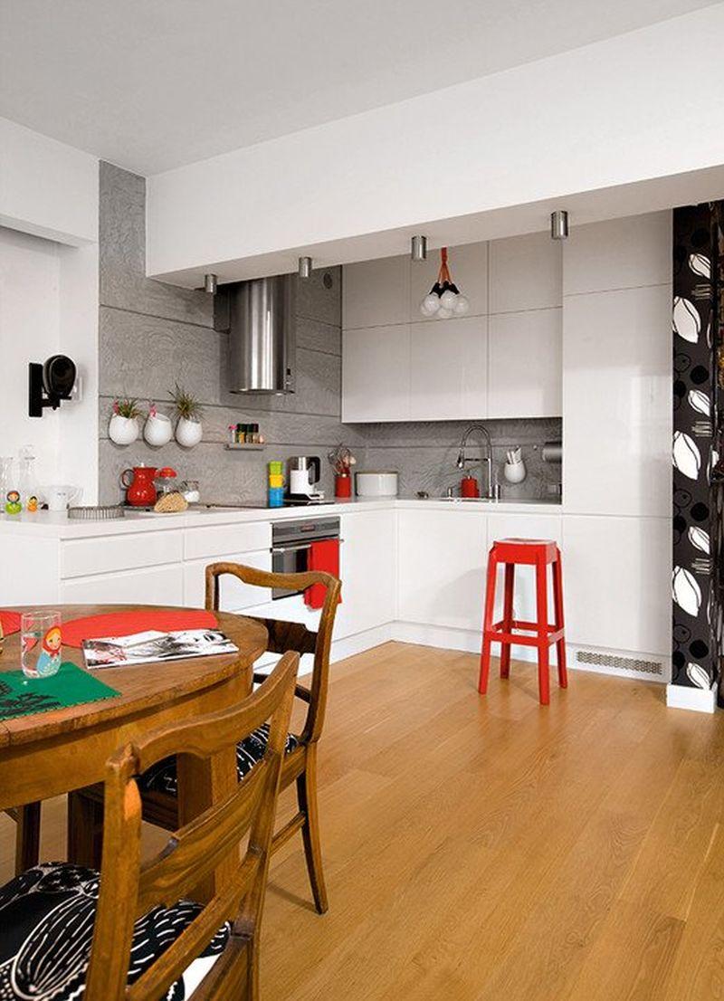 adelaparvu.com despre apartament 78 mp, designer Magdalena Motylinska, m2p2.pl foto (1)