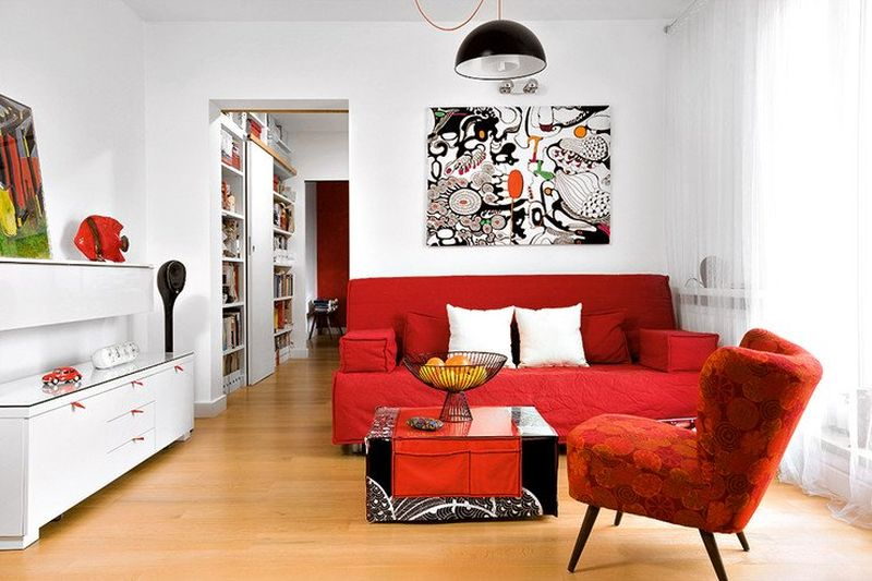 adelaparvu.com despre apartament 78 mp, designer Magdalena Motylinska, m2p2.pl foto (6)