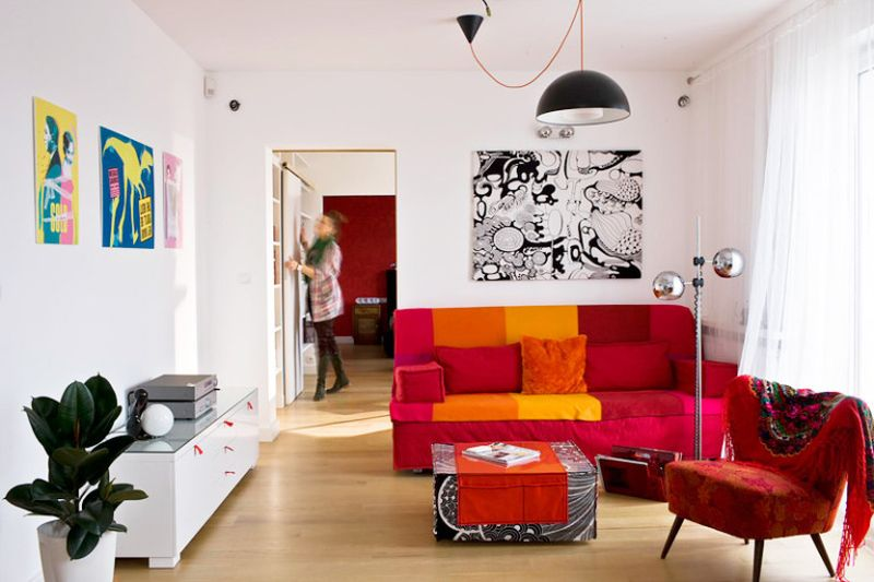 adelaparvu.com despre apartament 78 mp, designer Magdalena Motylinska, m2p2.pl foto (9)