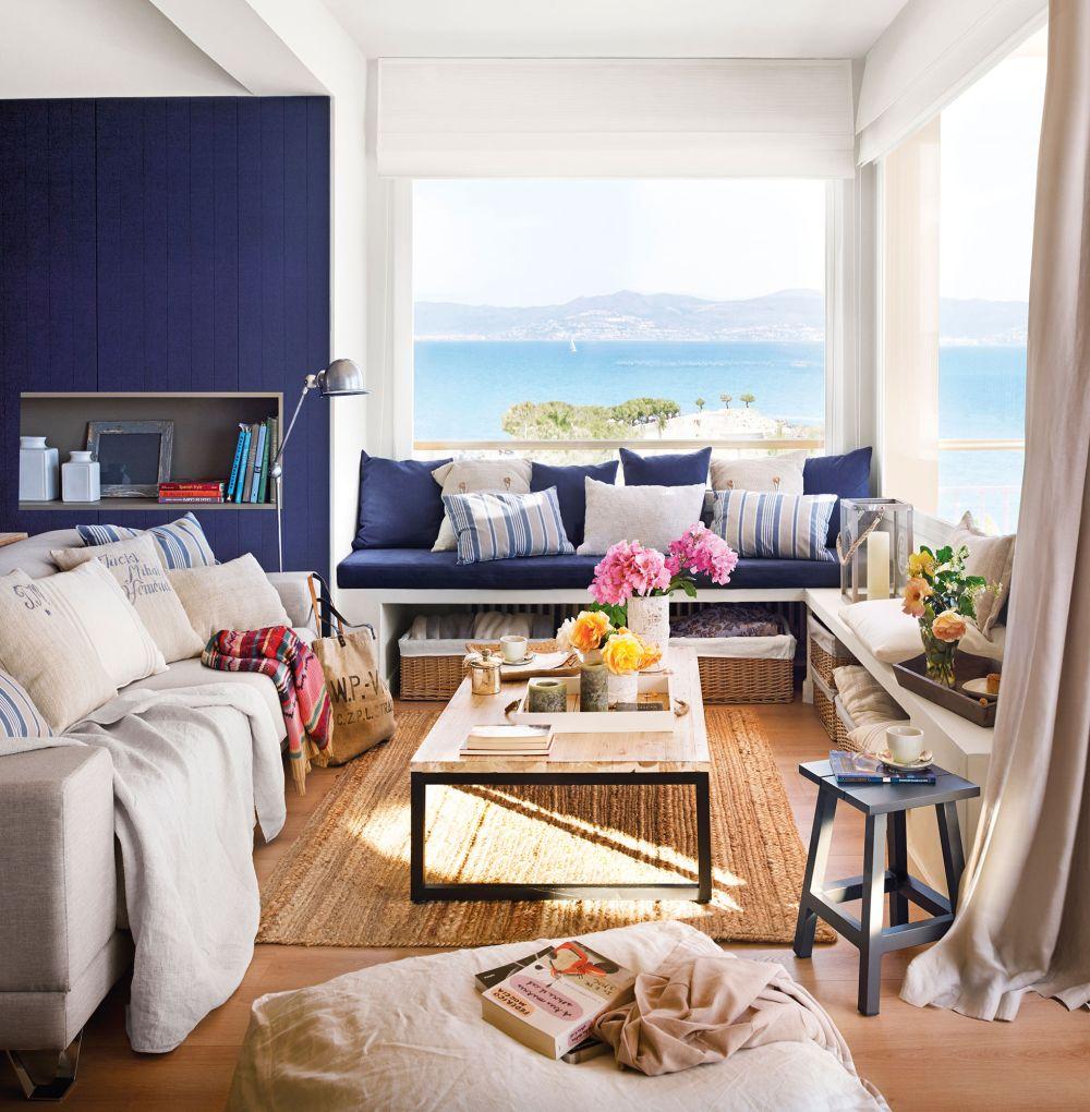 adelaparvu.com despre apartament in stil marin, design interior MM Estudi si Gemma Mateos, Foto ElMueble (1)