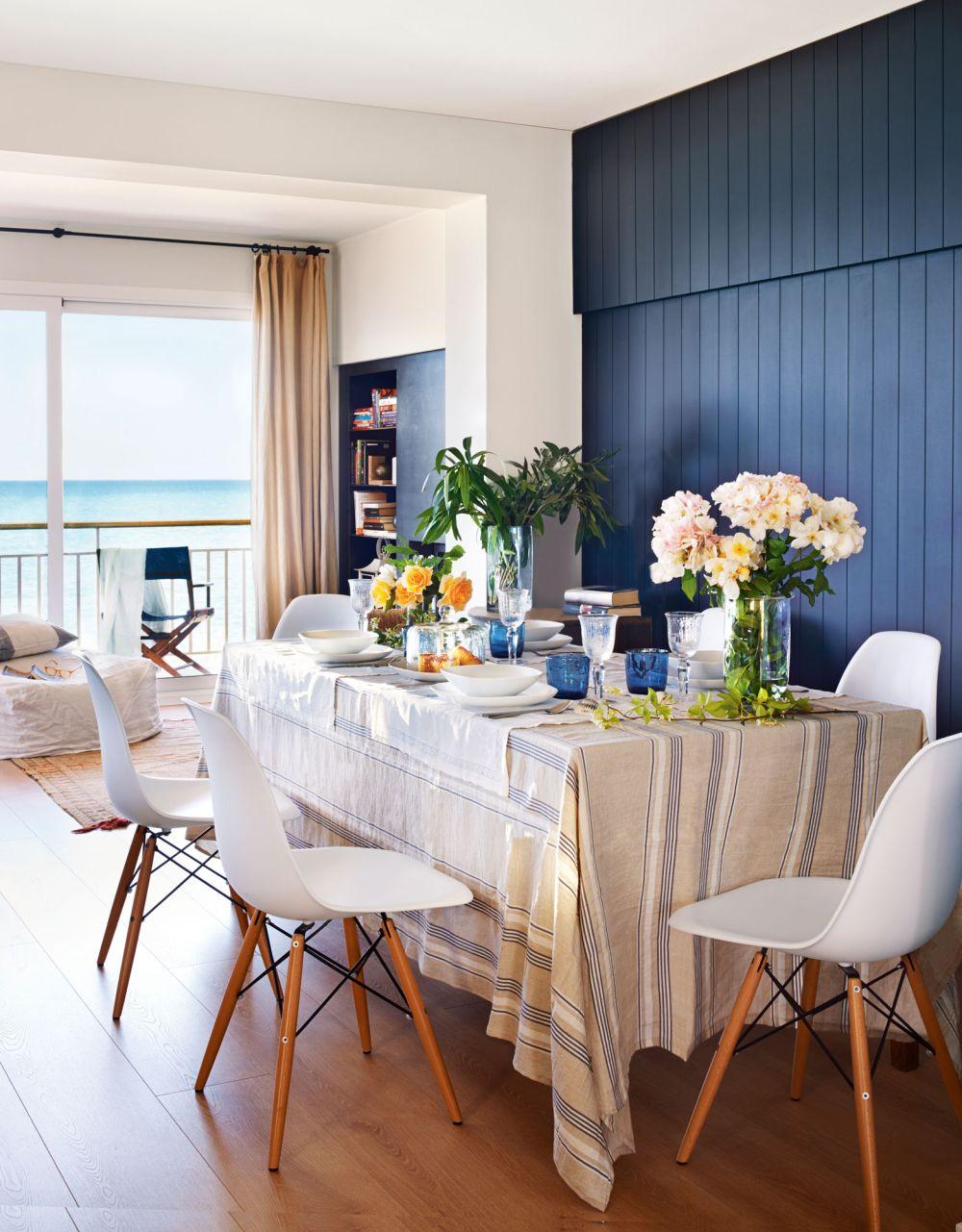 adelaparvu.com despre apartament in stil marin, design interior MM Estudi si Gemma Mateos, Foto ElMueble (10)