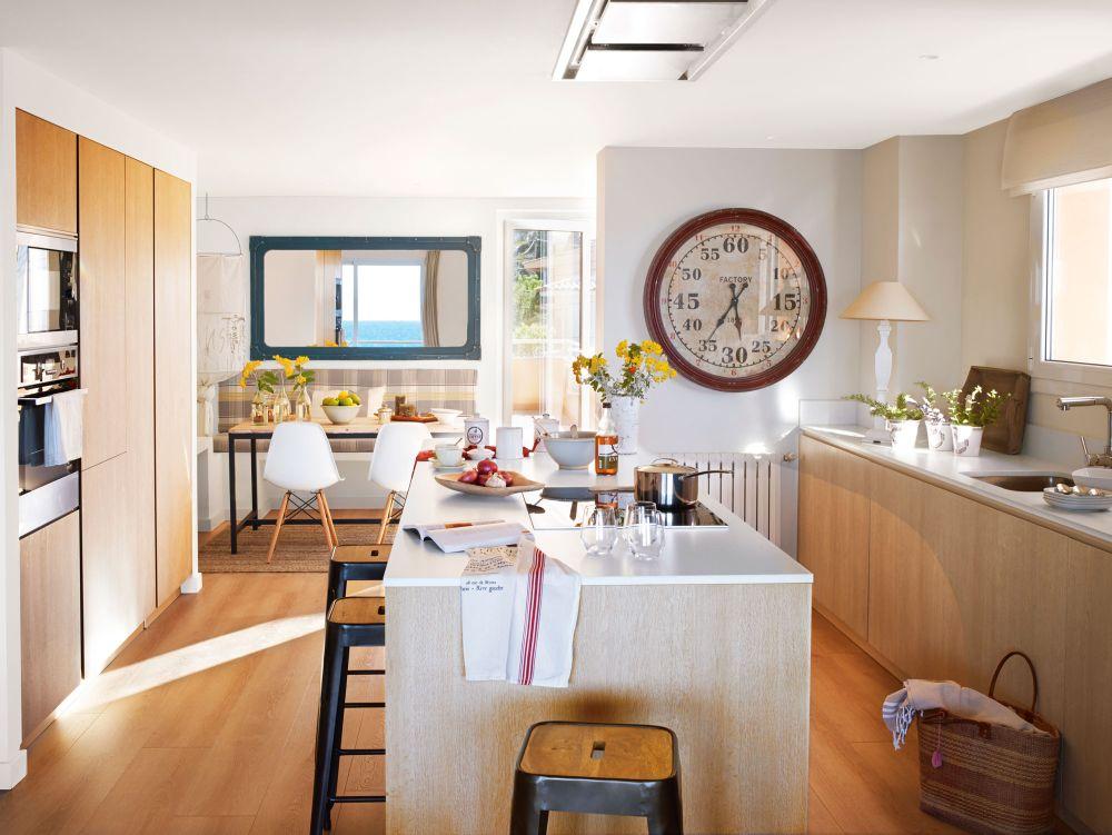 adelaparvu.com despre apartament in stil marin, design interior MM Estudi si Gemma Mateos, Foto ElMueble (11)