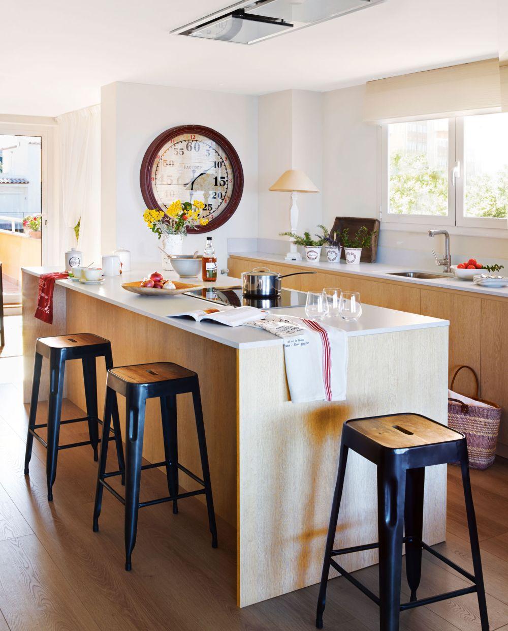 adelaparvu.com despre apartament in stil marin, design interior MM Estudi si Gemma Mateos, Foto ElMueble (14)